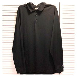 Nike XL Long Sleeve Polo Golf Shirt